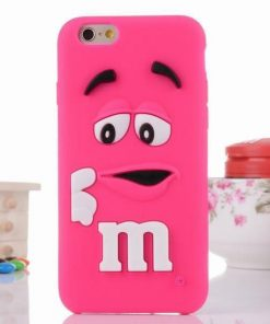 iPhone 6 6s hoesje case cover M&M roze online kopen - HF160062 - Hoesjes-Freak