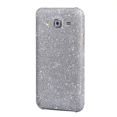 Samsung Galaxy J3 silver stickers - HF160159 - Smartphonehoesjes 4 you
